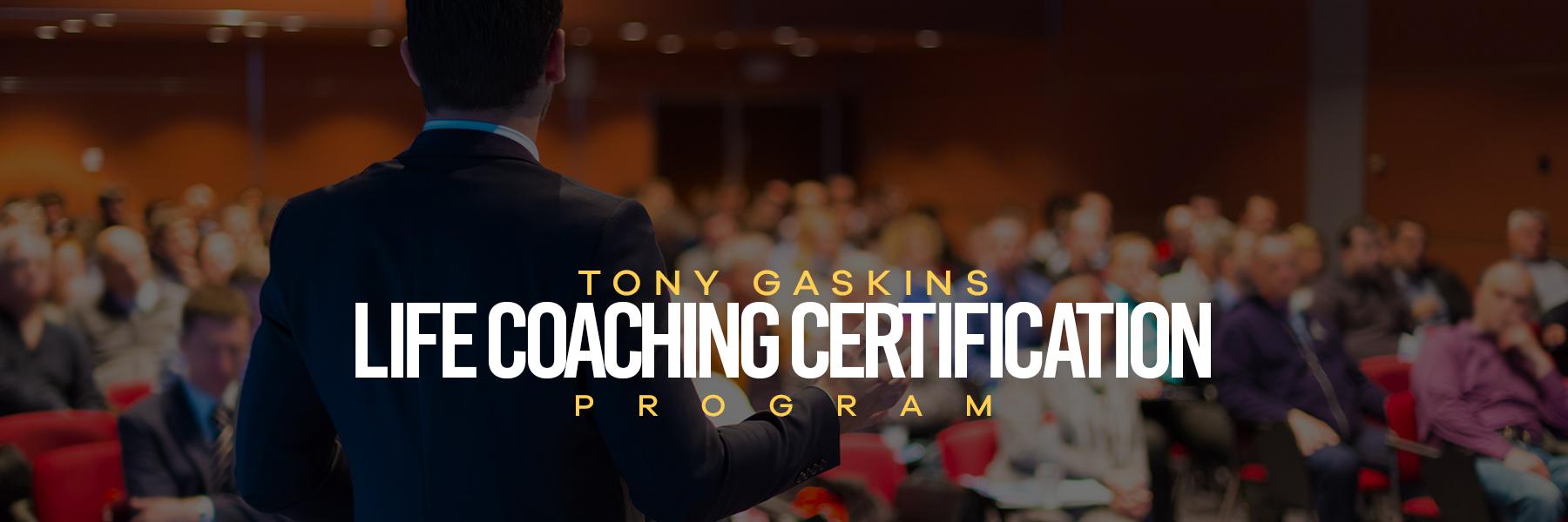 Life Coaching Certification Program Motivational Speaker